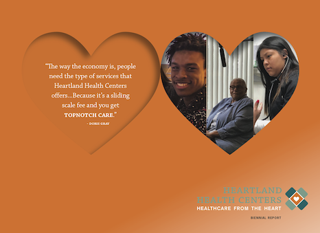 2019 hhc report cover: it's a sliding scale fee and you get topknotch care (Doris Gray, board member)