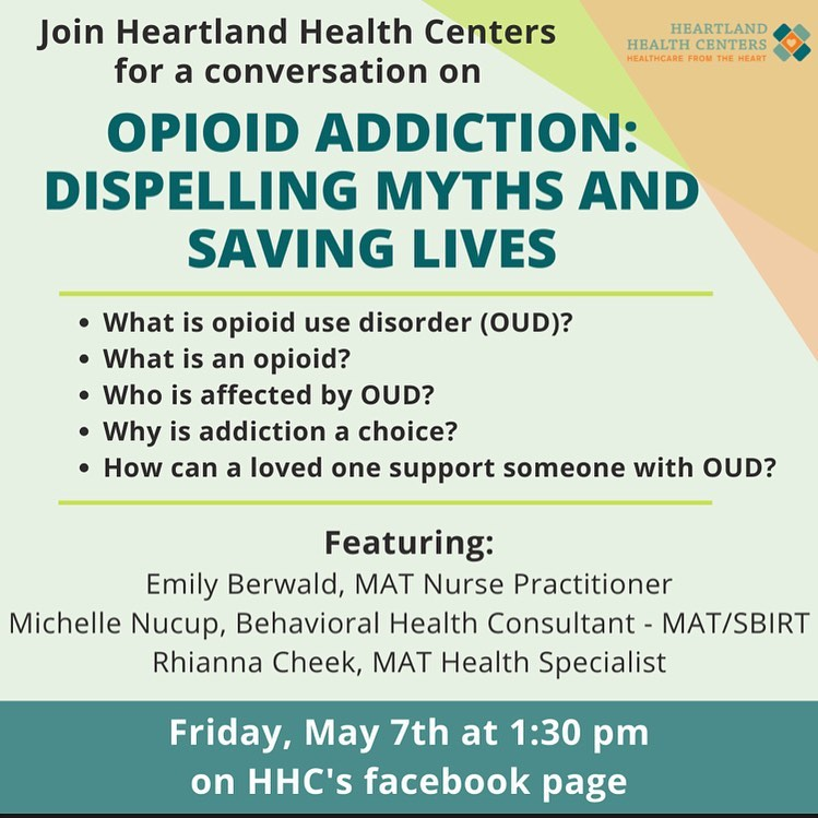 Opioid Addiction, Dispelling Myths and Saving Live