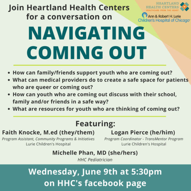 Health Chat: Navigating Coming Out