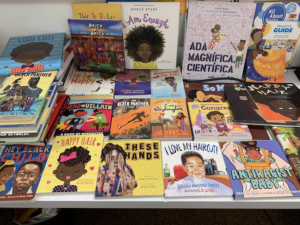 books with covers- reach out and read program